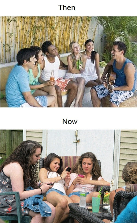 socialising-then-vs-now