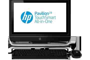 HP Pavilion 23 TouchSmart All in One PC - HP Unveils Desktop PC That Leaves the Desk Behind