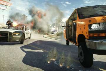 BFHL Screens Desert Hotwire - EA and Visceral Games Announce Battlefield Hardline Premium