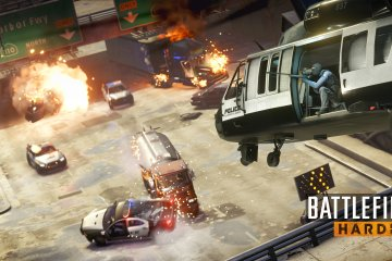 BFHL Screens Downtown Hotwire WM1 - EA and Visceral Games opens Battlefield Hardline Beta, Our First Experiences...