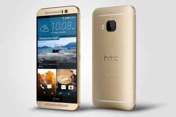 HTC One M9 Gold Left - HTC One M9 launches in the UAE