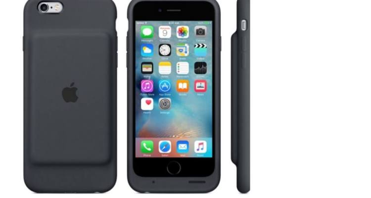 iphone 6s1 - Apple iPhones now has an official smart battery case