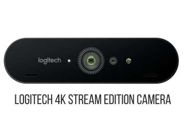 High Resolution Brio 4K Stream Edition FOB - Logitech Introduces the Logitech BRIO 4K STREAM EDITION Camera