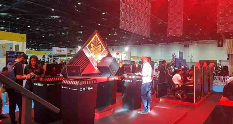 HP at Comic Con 3 - HP Hosts  Showcases OMEN gaming Lineup at MEFCC #ComicCon #MEFCC