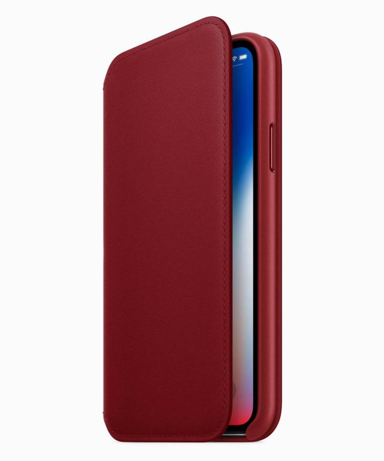 iPhone8 iPhone8PLUS PRODUCT RED Folio Case 041018 854x1024 - Apple Introduces iPhone 8 and iPhone 8 Plus RED Special Edition, No iPhone X RED Edition yet