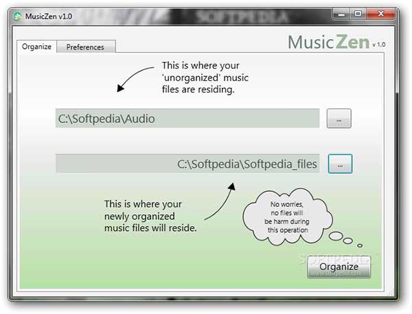 MusicZen Best Free Music Manager Software for Windows