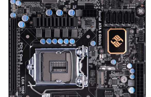 ECS Unveils L337 Gaming Z97I-DRONE ITX Motherboard
