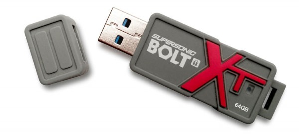 Patriot Launches Supersonic Bolt XT Offering Performance and Data Security