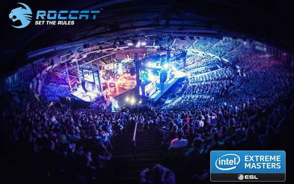 ROCCAT Joins Intel Extreme Masters As Major Event Sponsor