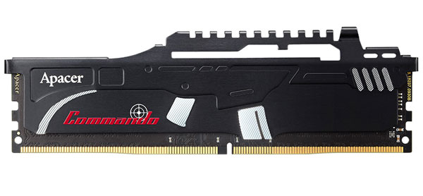 Apacer Deploys Commando DDR4 Memory Kits