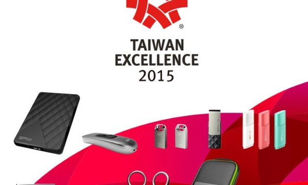Silicon Power Received 10 Awards from Taiwan Excellence 2015 for Six Consecutive Years