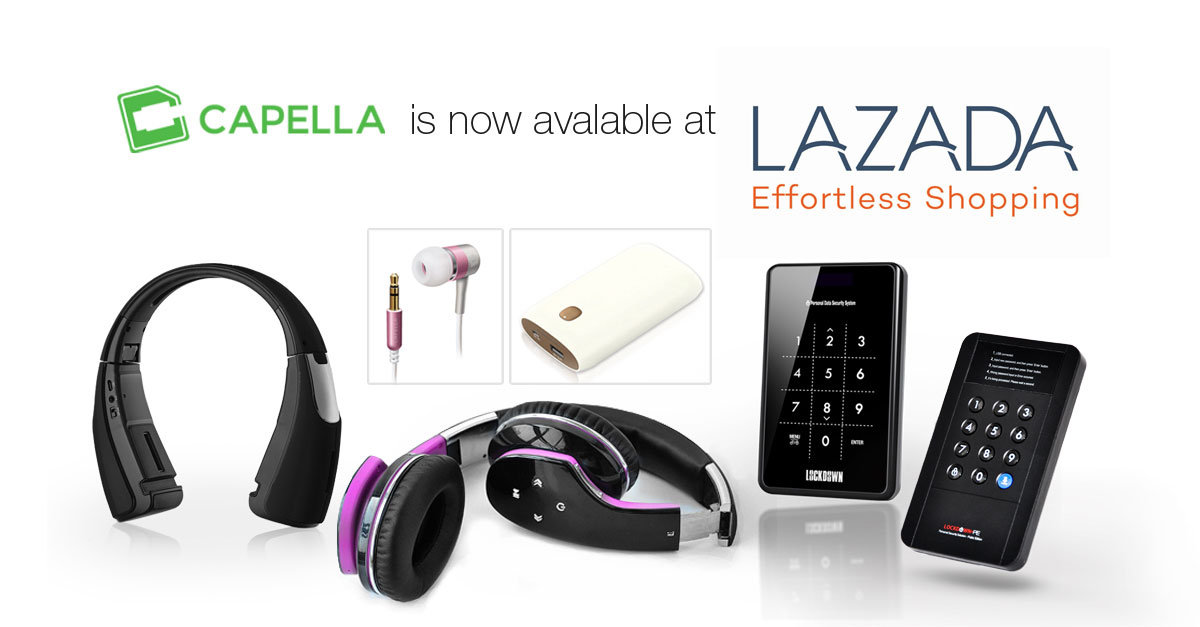 Capella PH Products Now Available At LAZADA
