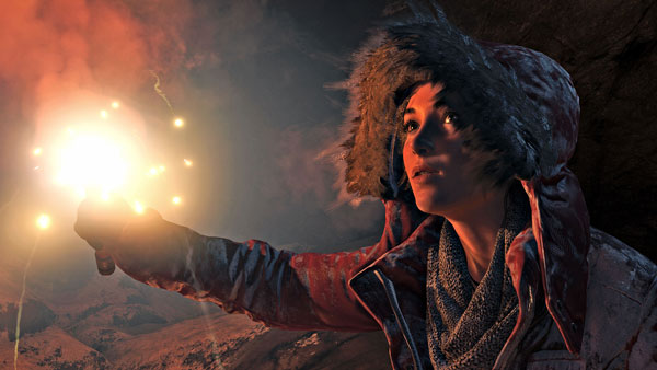 Rise of The Tomb Raider Screenies Spotted