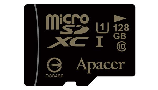 Apacer Unveils 128GB microSDXC Memory Card