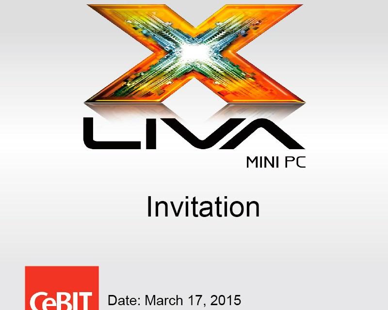 ECS To Show Off New LIVA Prototype in CeBIT 2015