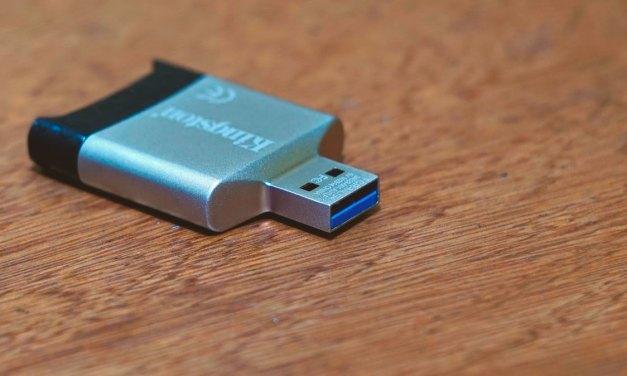 Kingston MobileLite G4 USB 3.0 Card Reader Review