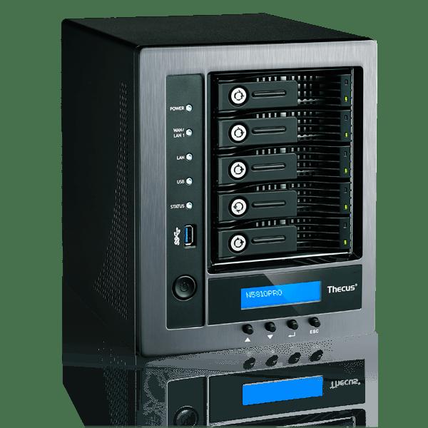 Thecus® Announces N5810PRO: Zero-Crash 5-Bay NAS
