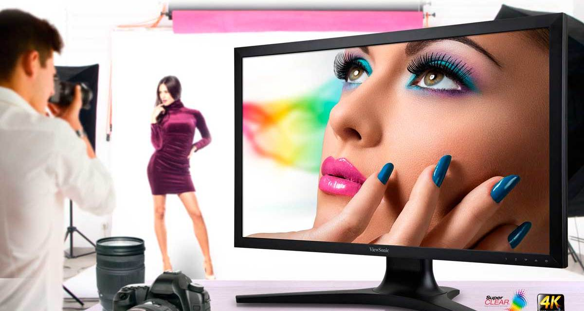 ViewSonic Introduces New Professional Ultra HD 4K Monitor