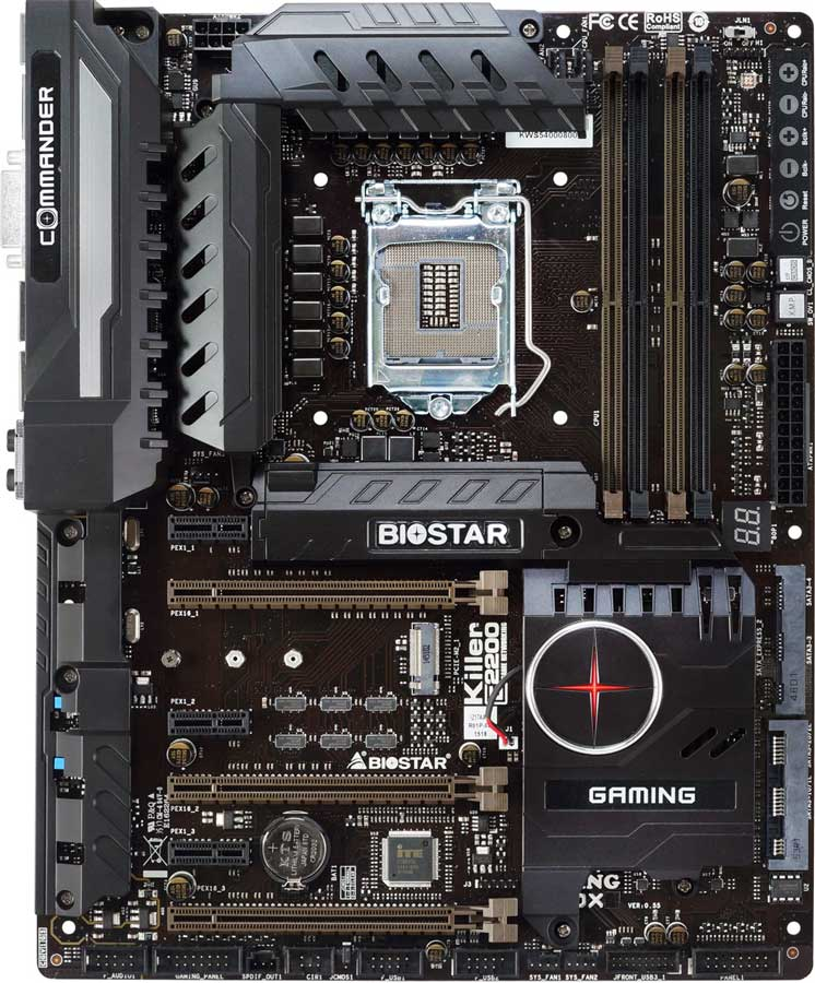 Biostar Gaming Z170X Killer LAN Driver for Mac