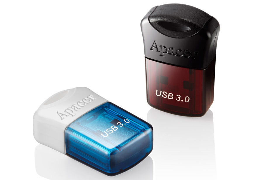 Apacer's Stylish Super-mini USB Flash Drives AH157 and AH116