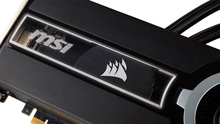MSI & Corsair Launches GTX 980 Ti SEA HAWK