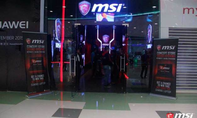 MSI Invites Everyone To The SM MOA Store Grand Opening