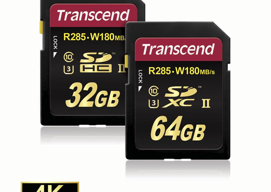 Transcend SDHC/SDXC UHS-II Class 3 SD Card Offers Extreme Transfer Speeds