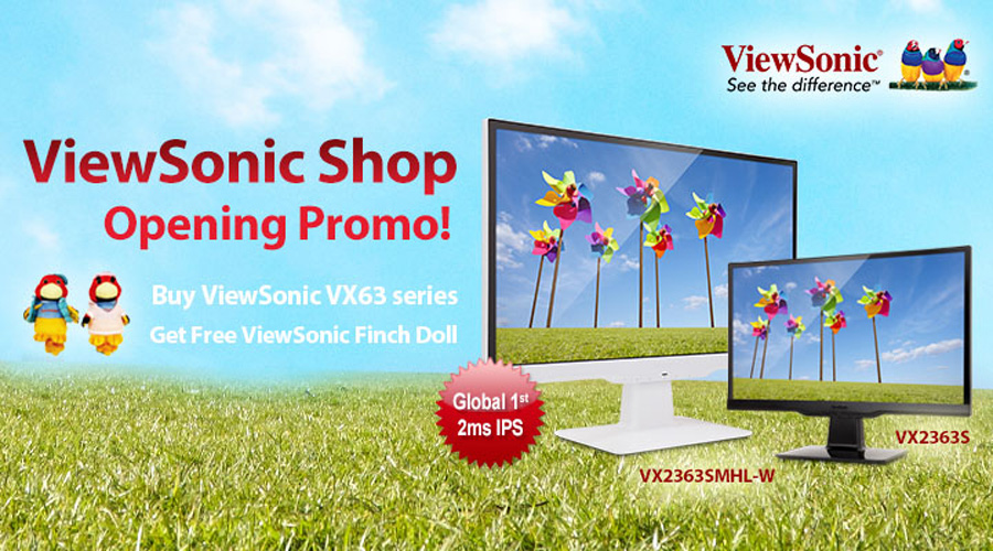 ViewSonic Online Store Officially Launched at Lazada Philippines