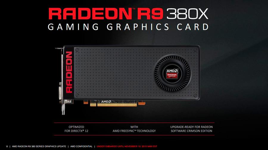 AMD Reveals Radeon R9 Fury 380X