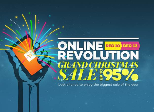 Lazada Announces 3-Day Grand Christmas Sale!