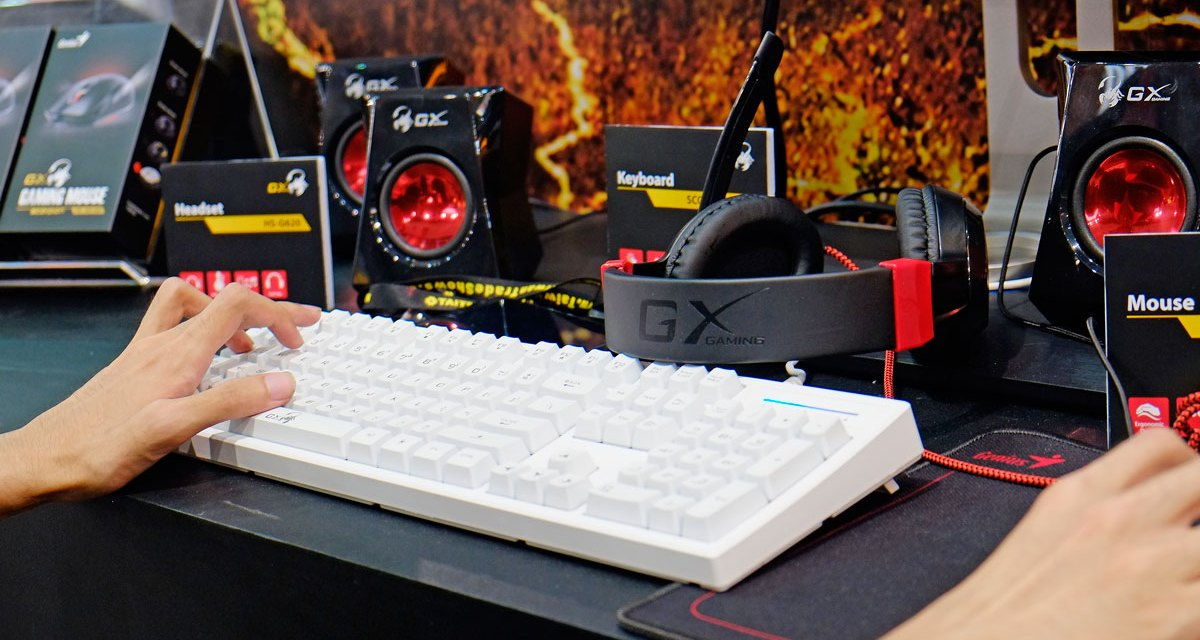 GENIUS Gaming & Audio Solutions @ COMPUTEX 2016