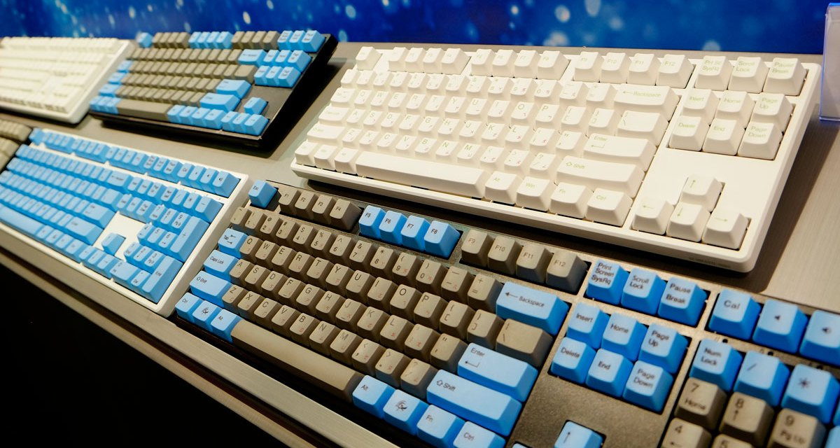 Ducky Shine 6 And New Ducky Secret PBT Mouse @ COMPUTEX 2016