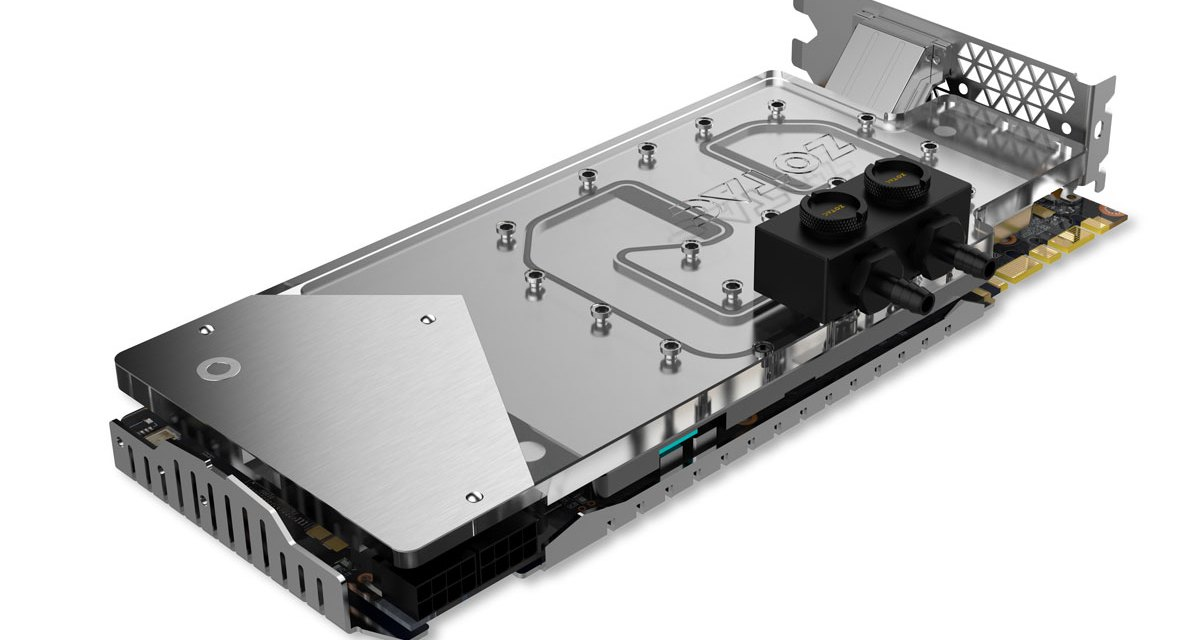 ZOTAC Teases the Liquid Cooled GTX 1080 Arctic Storm
