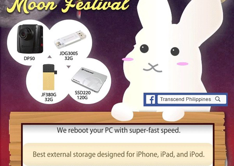 "Transcend Presents ""Let's Share in Moon Festival"" Giveaway Event"