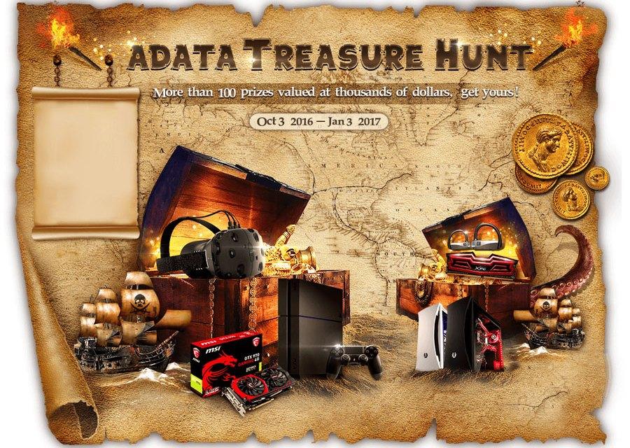 ADATA Global Treasure Hunt Promotional Campaign Begins