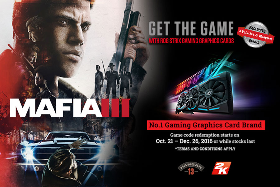 ASUS Philippines Announces Mafia III Game Bundles