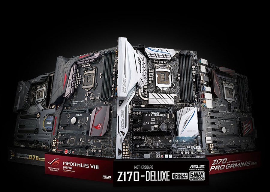ASUS Announces Support for Next-Generation LGA 1151 Socket CPUs