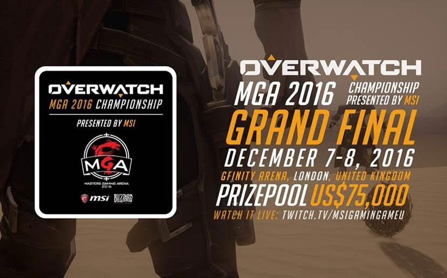 Tickets Now On Sale for MSI's Overwatch MGA 2016 Championship