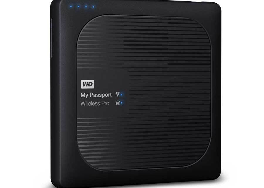 WD Introduces The My Passport Wireless Pro and My Cloud Pro