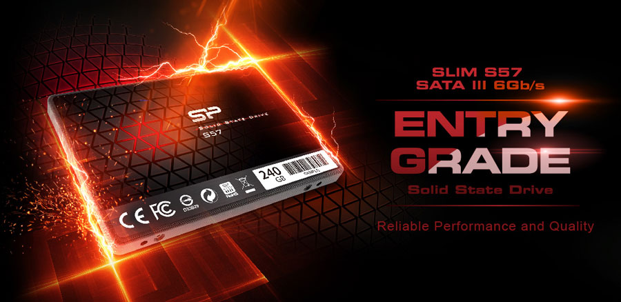 Silicon Power Presents 7mm Slim S57 SSD for Easy Upgrade