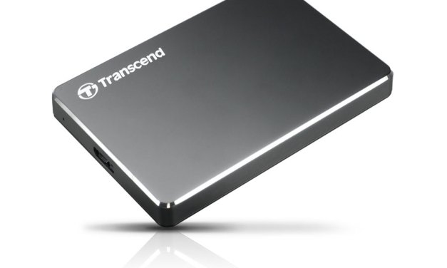Transcend Launches StoreJet 25C3 Extra Slim and Portable HDD