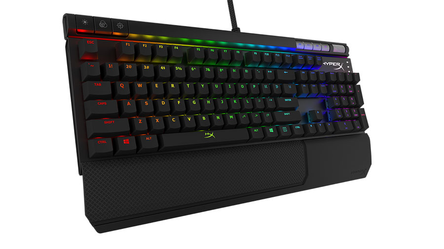 HyperX Announces Alloy RGB Keyboard and PulseFire Mouse