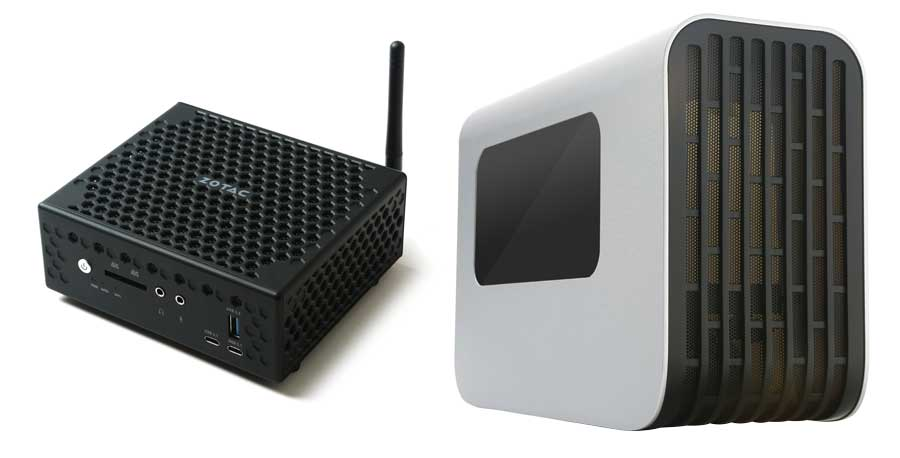 ZOTAC Reveals ZBOX C and External Graphics Dock