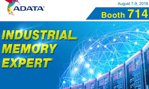 ADATA to Showcase Its Storage Solutions at Flash Memory Summit 2018