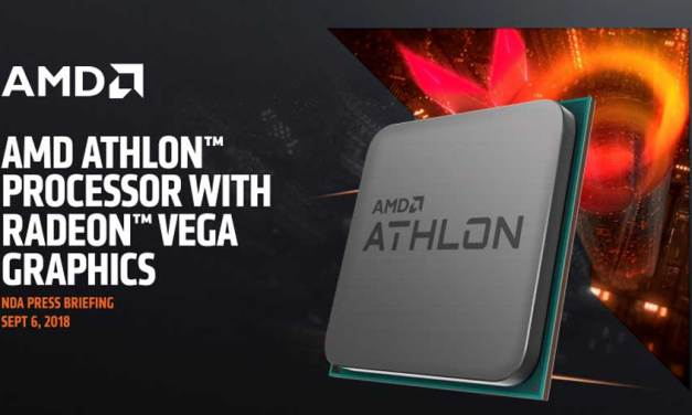 AMD Announces Zen Based AM4 Athlon CPU Family