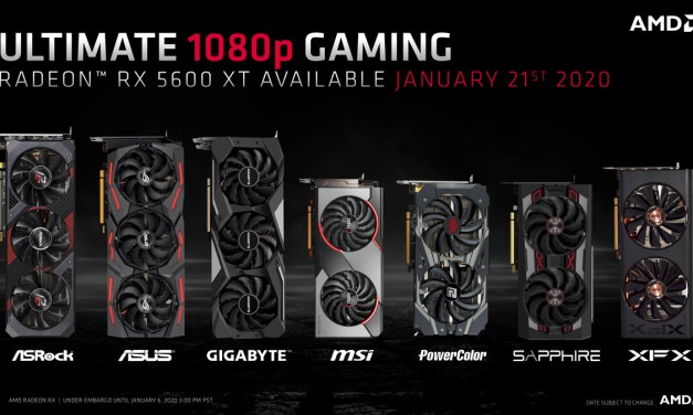 AMD Unveils Radeon RX 5600 XT at CES 2020
