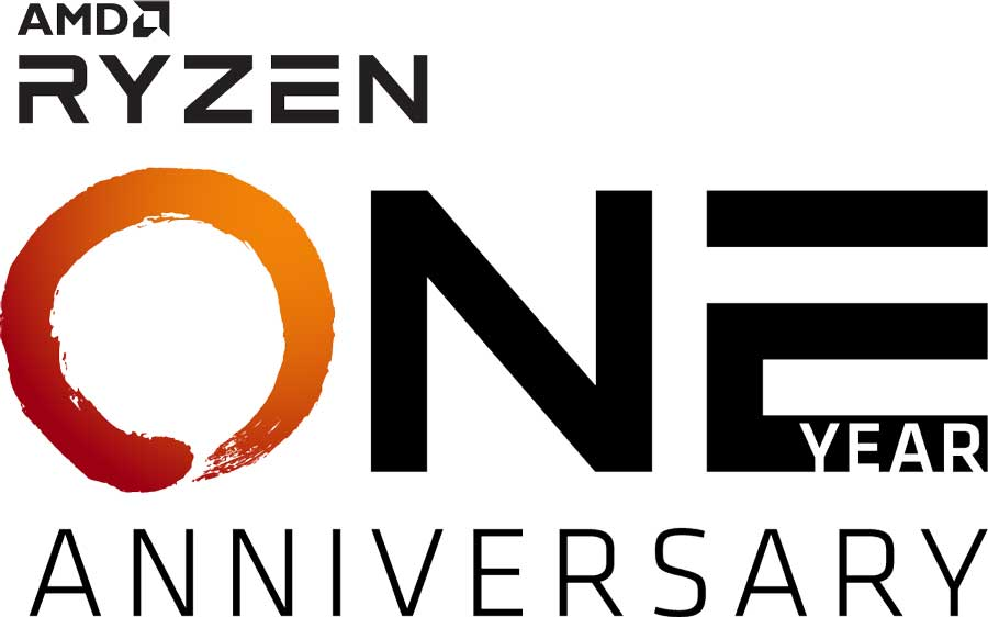 AMD Celebrates Ryzen's One-Year Anniversary