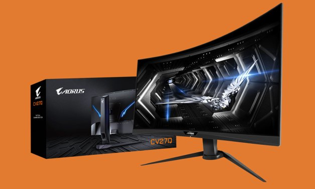 GIGABYTE AORUS CV27Q Bags iF Design Award 2020