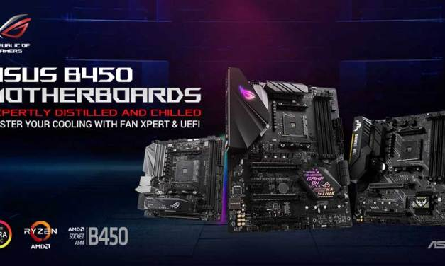 ASUS Launches AMD B450 Motherboard Lineup