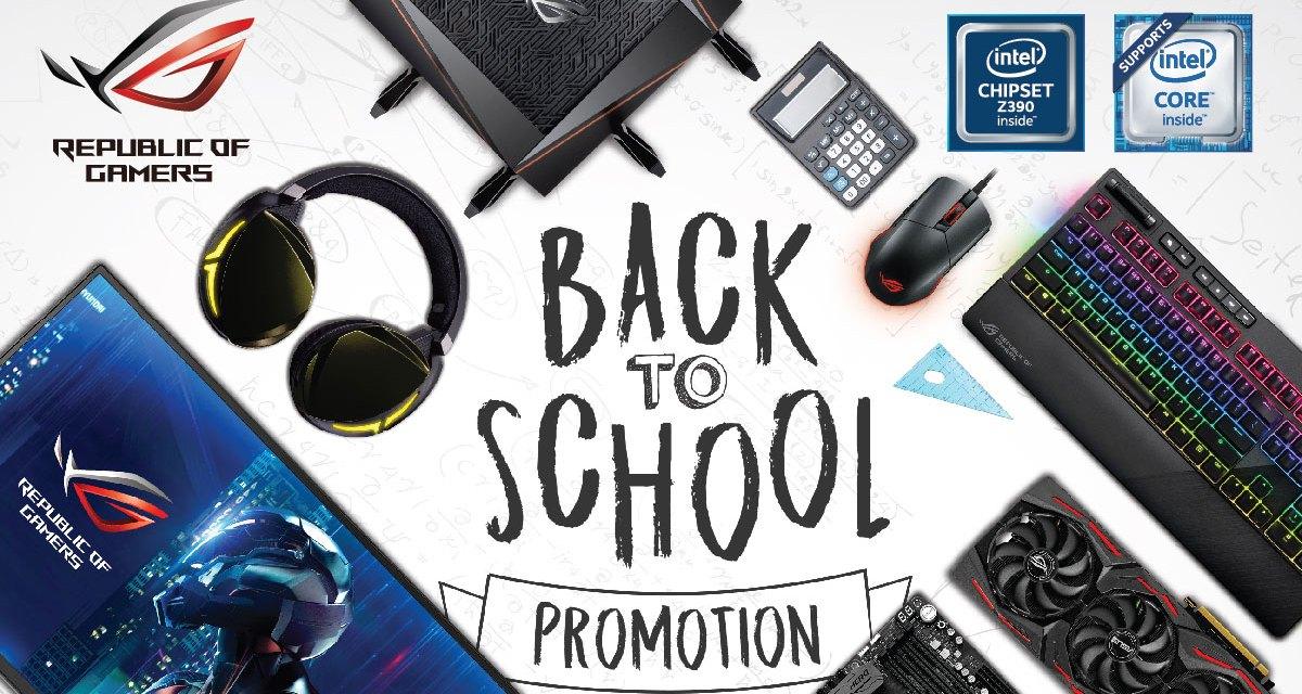 ASUS ROG Bundles Premium Items for Back-to-School Season of 2019
